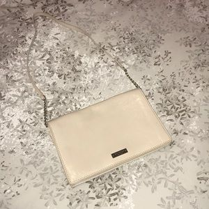 Kate Spade New York beige shoulder bag purse